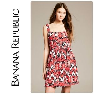 Banana Republic Iket Capri Printed Dress